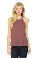 Load image into Gallery viewer, BELLA+CANVAS  Women's Flowy High-Neck Tank. BC8809