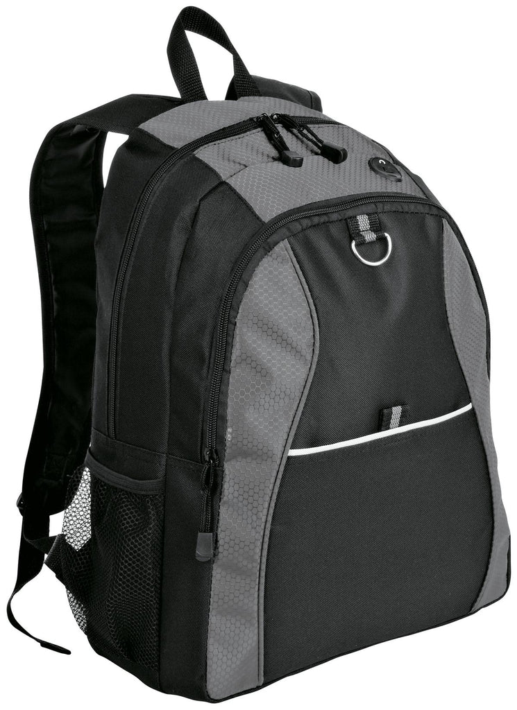 Port Authority® Contrast Honeycomb Backpack. BG1020
