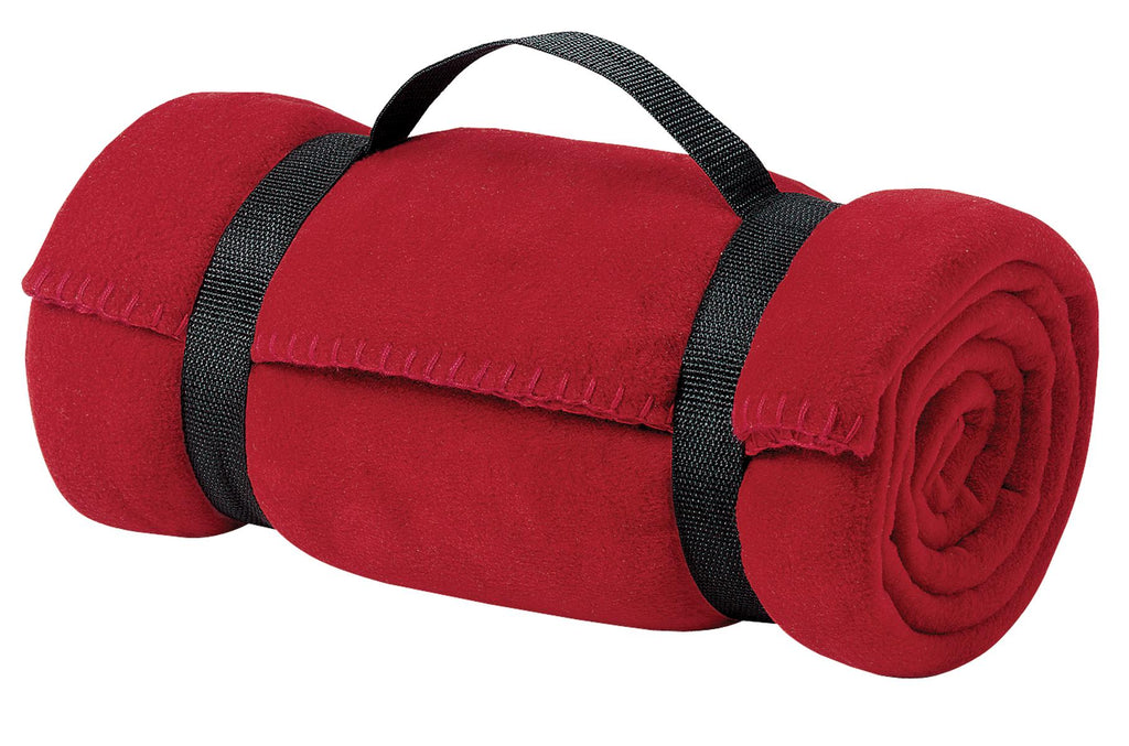 Port Authority® - Value Fleece Blanket with Strap.  BP10