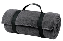 Load image into Gallery viewer, Port Authority - Value Fleece Blanket with Strap.  BP10