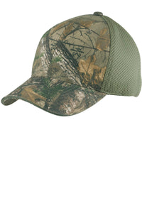 Port Authority Camouflage Cap with Air Mesh Back. C912