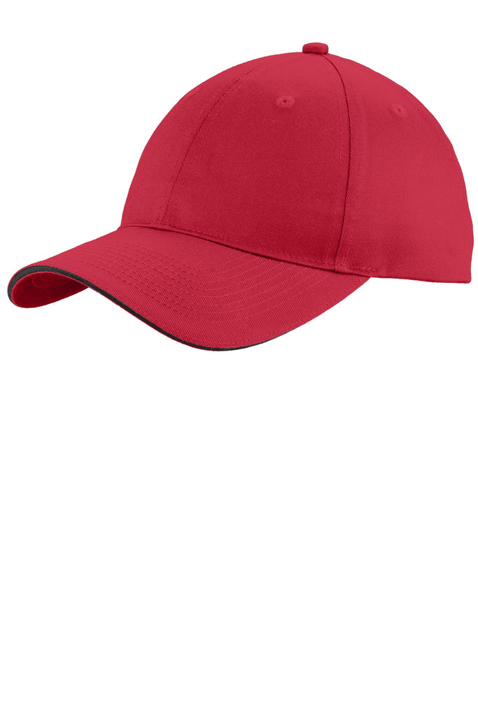 Port & Company® Unstructured Sandwich Bill Cap. C919