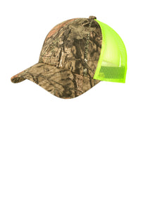 Port Authority Structured Camouflage Mesh Back Cap. C930