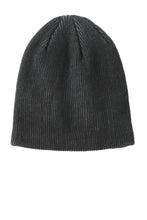 Load image into Gallery viewer, Port Authority Rib Knit Slouch Beanie. C935