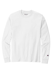 Champion   Heritage 5.2-Oz. Jersey Long Sleeve Tee CC8C