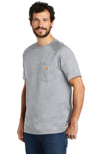Load image into Gallery viewer, Carhartt Force  Cotton Delmont Short Sleeve T-Shirt. CT100410