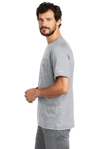 Carhartt Force  Cotton Delmont Short Sleeve T-Shirt. CT100410