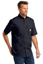 Load image into Gallery viewer, Carhartt Force  Ridgefield Solid Short Sleeve Shirt. CT102417