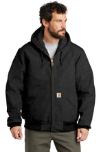 Load image into Gallery viewer, Carhartt  Tall Quilted-Flannel-Lined Duck Active Jac. CTTSJ140