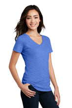 Load image into Gallery viewer, District Women's Perfect Blend V-Neck Tee. DM1190L