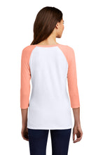 Load image into Gallery viewer, District Women's Perfect Tri 3/4-Sleeve Raglan. DM136L