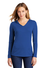 Load image into Gallery viewer, District Women's Perfect Tri Long Sleeve Hoodie. DM139L