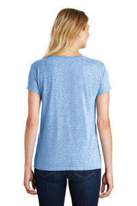 District  Women's Astro V-Neck Tee. DM465A