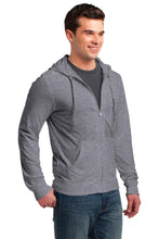 Load image into Gallery viewer, District Jersey Full-Zip Hoodie. DT1100
