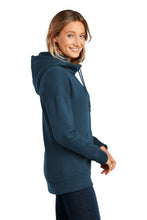 Load image into Gallery viewer, District  Women's Perfect Weight  Fleece Drop Shoulder Full-Zip Hoodie DT1104