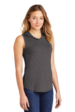 Load image into Gallery viewer, District  Women's Perfect Tri  Sleeveless Hoodie DT1375
