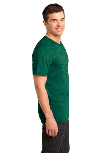 CLOSEOUT  - Young Mens Gravel 50/50 Notch Crew Tee. DT1400