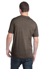 CLOSEOUT District - Young Mens Tri-Blend V-Neck Tee DT142V