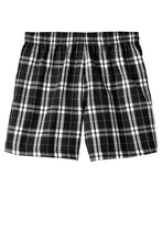 Load image into Gallery viewer, CLOSEOUT District - Young Mens Flannel Plaid Boxer. DT1801