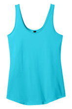 Load image into Gallery viewer, CLOSEOUT District - Juniors Cotton Swing Tank DT2500