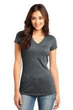Load image into Gallery viewer, CLOSEOUT District - Juniors Microburn V-Neck Tee. DT261