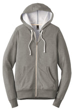 Load image into Gallery viewer, District  Perfect Tri  French Terry Full-Zip Hoodie. DT356