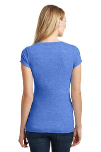CLOSEOUT District Juniors Very Important Tee Deep V-Neck. DT6502