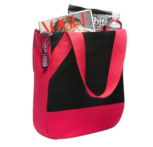 CLOSEOUT District - On-the-Go Canvas Tote. DT713