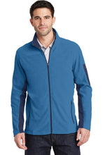 Load image into Gallery viewer, Port Authority Summit Fleece Full-Zip Jacket. F233