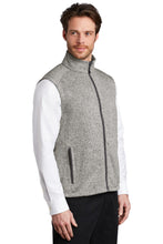 Load image into Gallery viewer, Port Authority  Sweater Fleece Vest F236