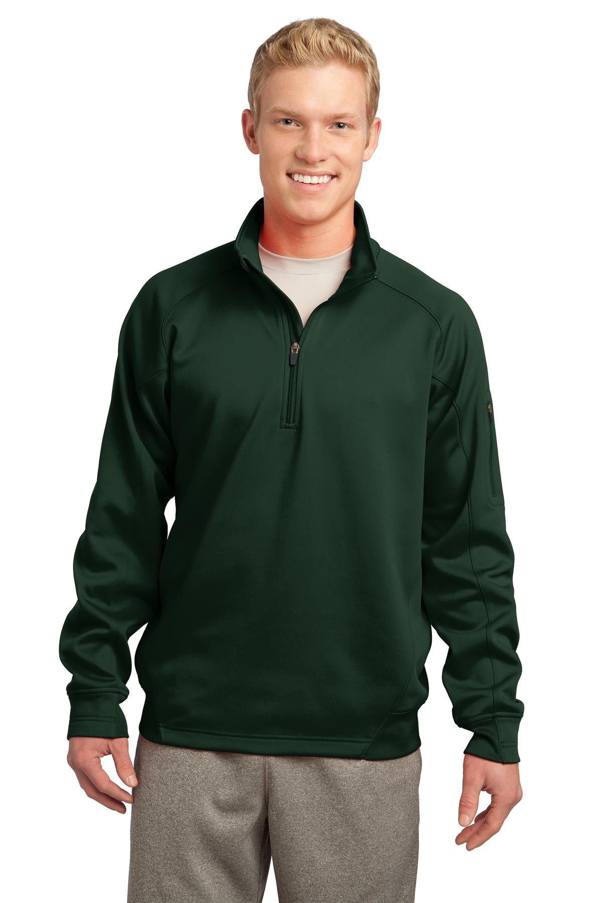 CLOSEOUT Sport-Tek Tall Tech Fleece 1/4-Zip Pullover. TST247