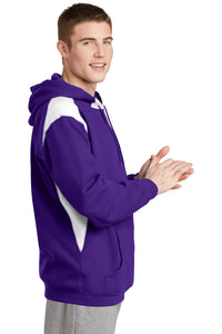 CLOSEOUT Sport-Tek Pullover Hooded Sweatshirt with Contrast Color. F264