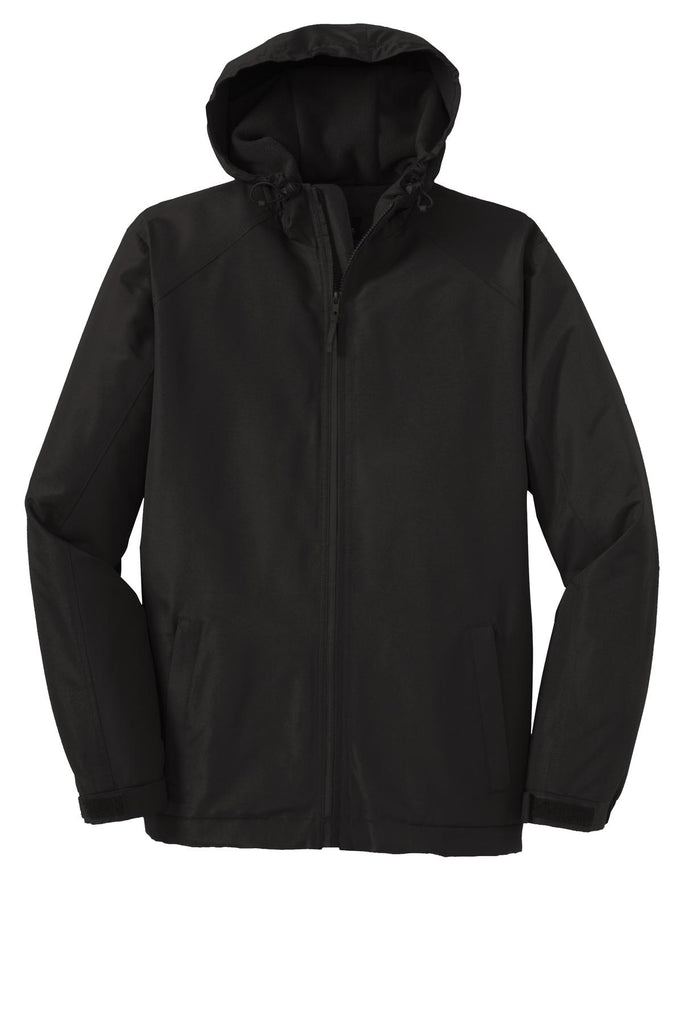 Port Authority Hooded Charger Jacket. J327