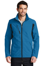Load image into Gallery viewer, Port Authority Back-Block Soft Shell Jacket. J336