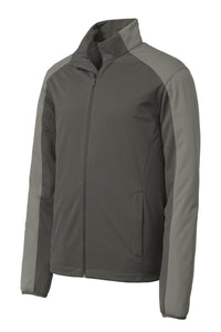 Port Authority Active Colorblock Soft Shell Jacket. J718