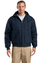 Load image into Gallery viewer, CornerStone Tall Duck Cloth Hooded Work Jacket. TLJ763H