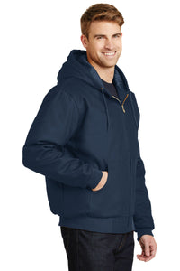 CornerStone - Duck Cloth Hooded Work Jacket.  J763H