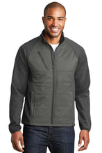 Load image into Gallery viewer, Port Authority Hybrid Soft Shell Jacket. J787