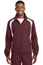 Load image into Gallery viewer, Sport-Tek Colorblock Raglan Jacket. JST60