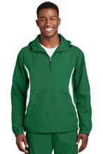Load image into Gallery viewer, Sport-Tek Colorblock Raglan Anorak. JST63