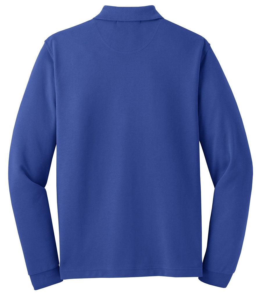 Port Authority Rapid Dry Long Sleeve Polo.  K455LS