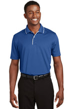 Load image into Gallery viewer, Sport-Tek Dri-Mesh Polo with Tipped Collar and Piping.  K467