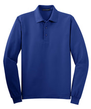 Load image into Gallery viewer, Port Authority Silk Touch Long Sleeve Polo.  K500LS