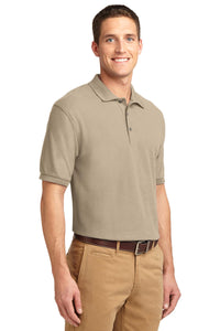 Port Authority Silk Touch Polo.  K500