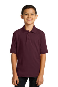 Port & Company Youth Core Blend Jersey Knit Polo. KP55Y
