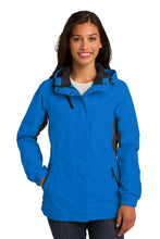 Load image into Gallery viewer, Port Authority Ladies Cascade Waterproof Jacket. L322
