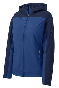 Port Authority Ladies Hooded Core Soft Shell Jacket. L335