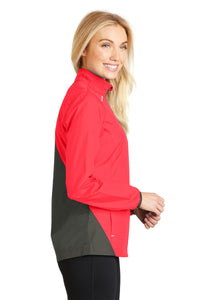 Port Authority Ladies Zephyr Reflective Hit Full-Zip Jacket. L345