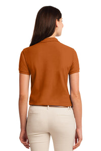 Port Authority Ladies Silk Touch Polo.  L500