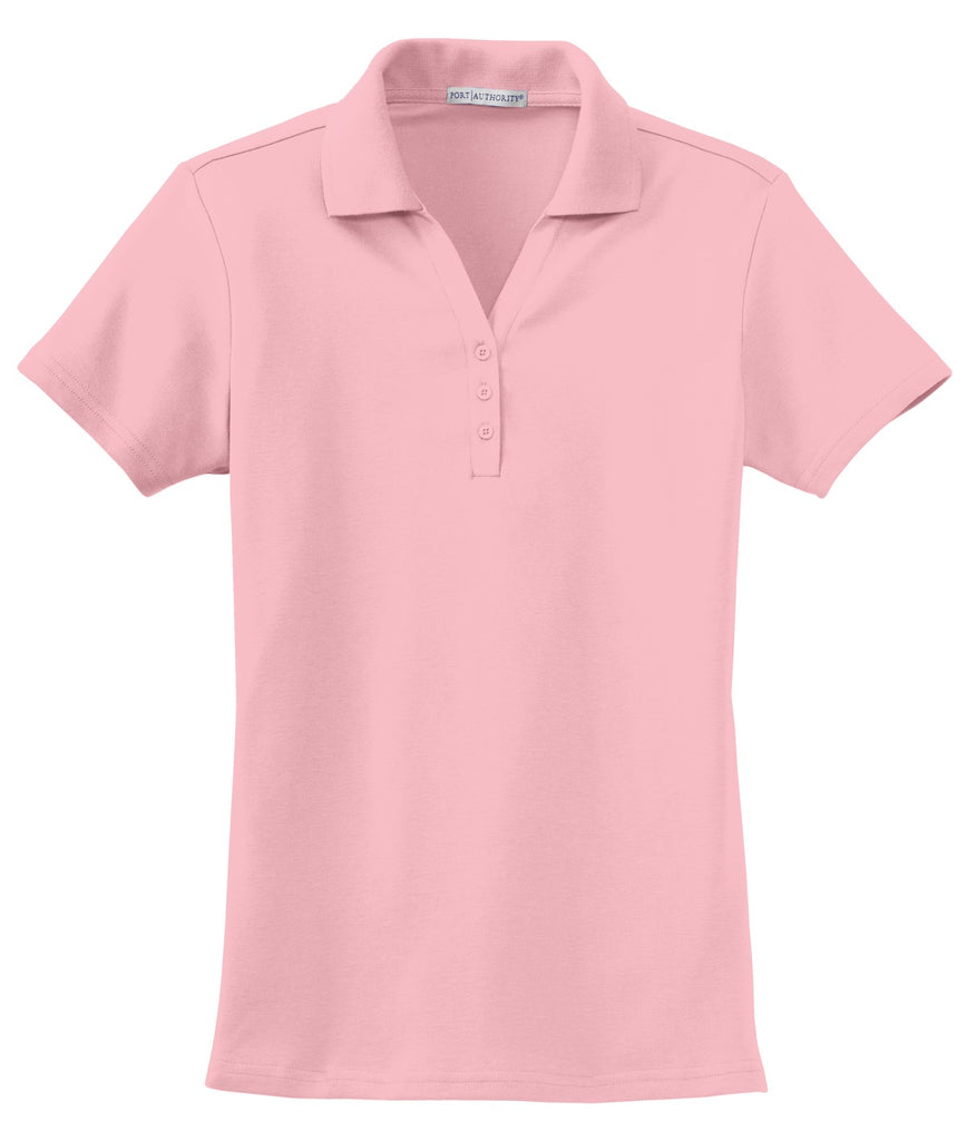 CLOSEOUT Port Authority Ladies Silk Touch Interlock Polo. L520